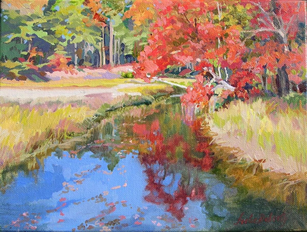 autumn-reflections-at-little-river-oil-framed-9x12-300