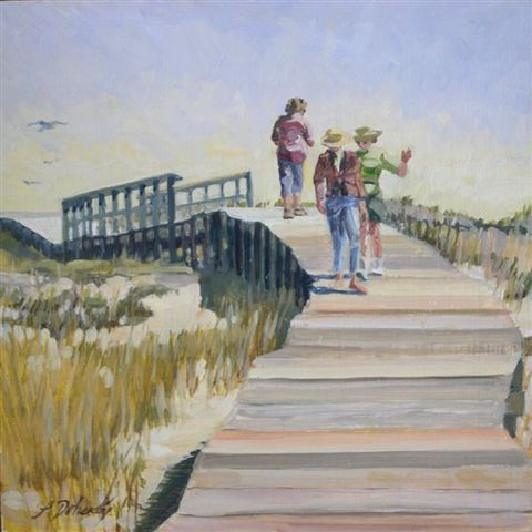 Down by the Boardwalk (Sold)
